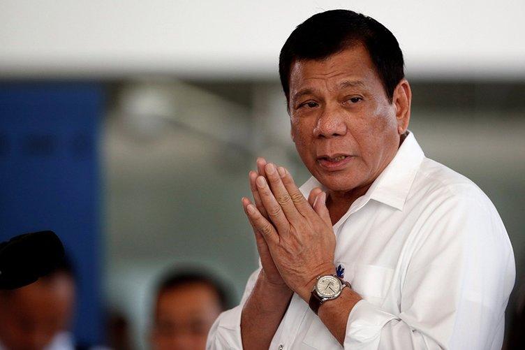 Duterte'den o soruya yanıt: Canı cehenneme!