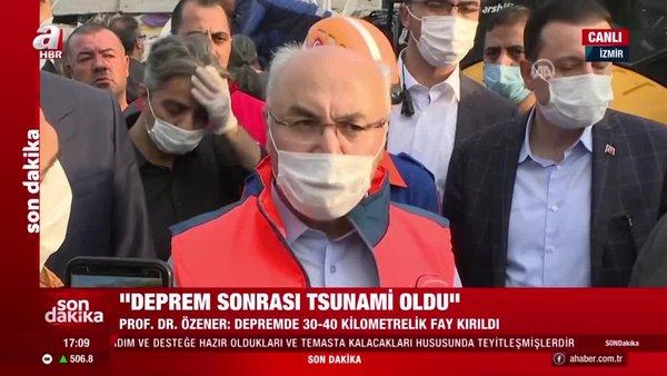 Son dakika! İzmir Valisi'nden deprem bölgesindeki vatandaşlara uyarı   Video