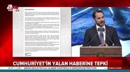 Bakan Albayrak'tan Cumhuriyet'e yalanlama