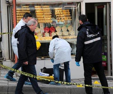 Ataşehir'de kuyumcu soygunu: Ölü ve yaralılar var