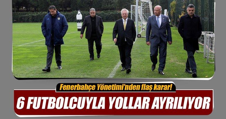 Fenerbahçe'de 6 yolcu