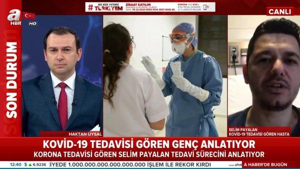 Son dakika: Corona virüsü tedavisi gören Selim Payalan canlı yayında yaşadıklarını anlattı | Video
