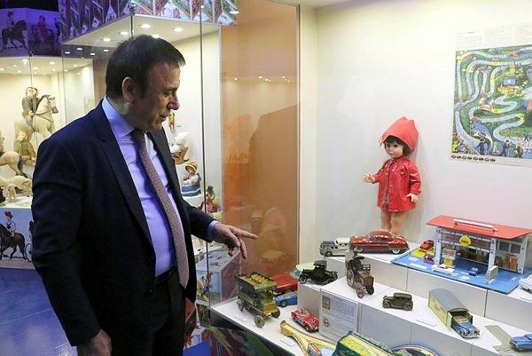 'Dünyanın üçüncü büyük oyuncak müzesi' Samsun'da kuruldu