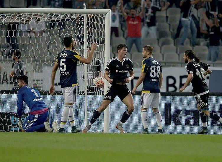 Beşiktaş, Fenerbahçe'yi tokatladı