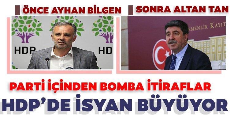 SON DAKİKA HABERLER: HDP içinde isyan büyüyor! Önce Ayhan Bilgen, şimdi de Altan Tan'dan bomba itiraflar...