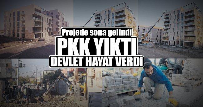 PKK'dan arındırılan bölgeler hayat buldu