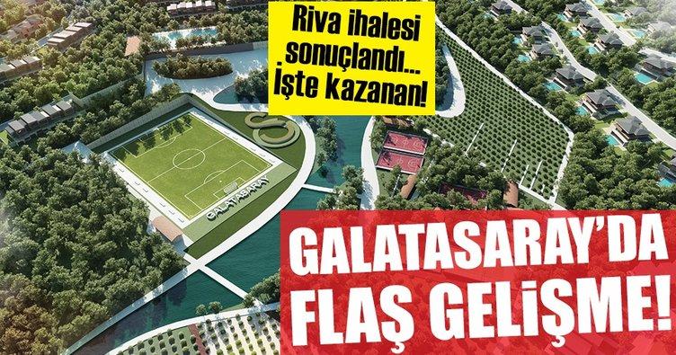 Galatasaray'ın Riva ihalesi sonuçlandı