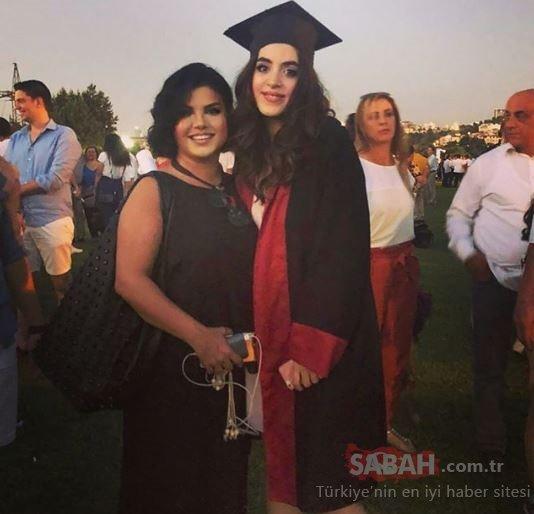 Elif Karlı'nın kızı mezun oldu