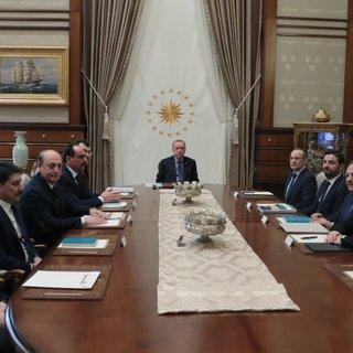Cumhurbaşkanı Erdoğan, Politika Kurulları başkanvekillerini  kabul etti
