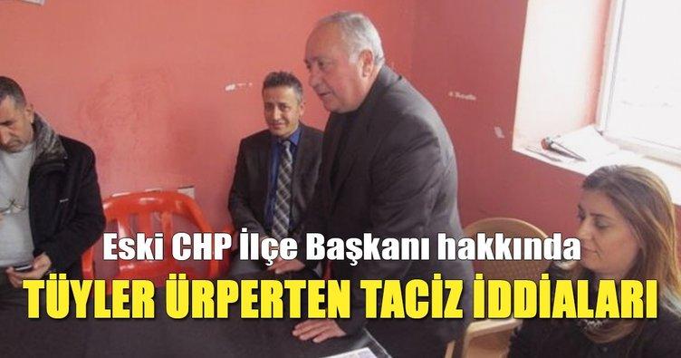 CHP'li eski başkan hakkında tüyler ürperten taciz iddiaları