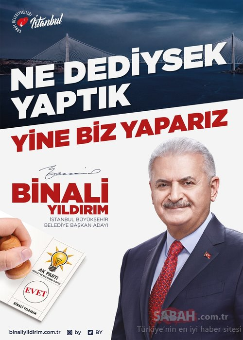 AK Parti'den yeni slogan… Ne dediysek yaptık, yine biz yaparız