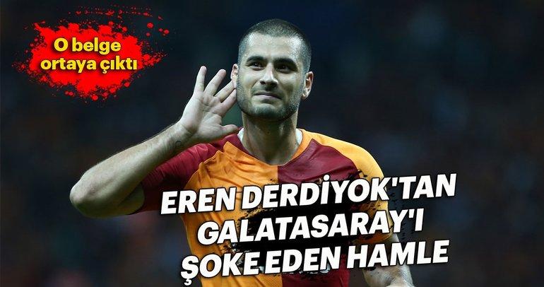 Eren Derdiyok'tan Galatasaray'ı şoke eden hamle