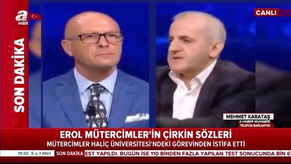 Son dakika! Erol Mütercimler Haliç Üniversitesi'nden istifa etti | Video