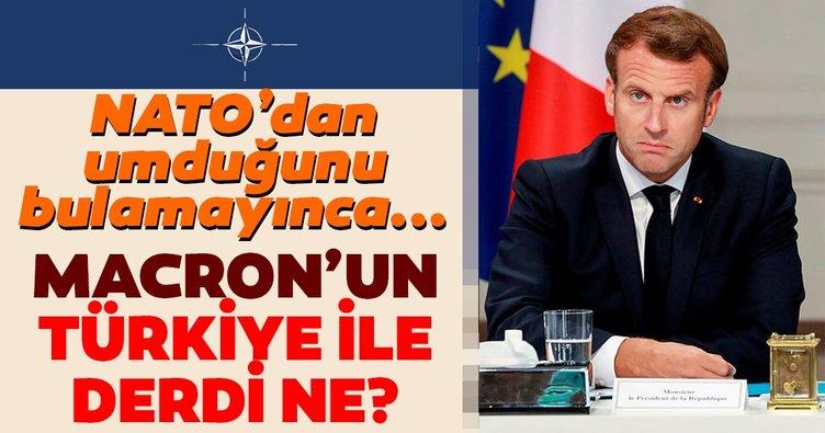 Macron'un Türkiye ile derdi ne? NATO'dan umduğunu bulamayan Macron gözünü AB'ye çevirdi!