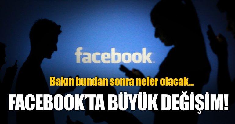 Skandaldan sonra Facebook'ta yeni dönem başladı