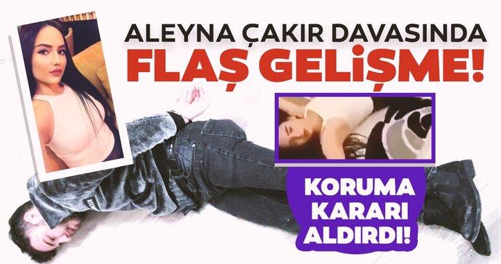 Aleyna Çakır davasında flaş gelişme! Ümitcan Uygun'un abisi hakkında koruma kararı!