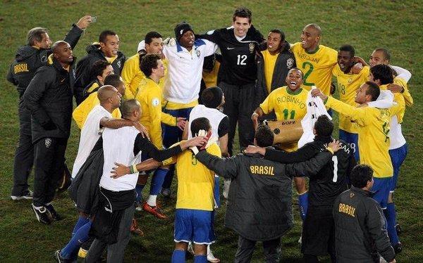 Şampiyon Brezilya