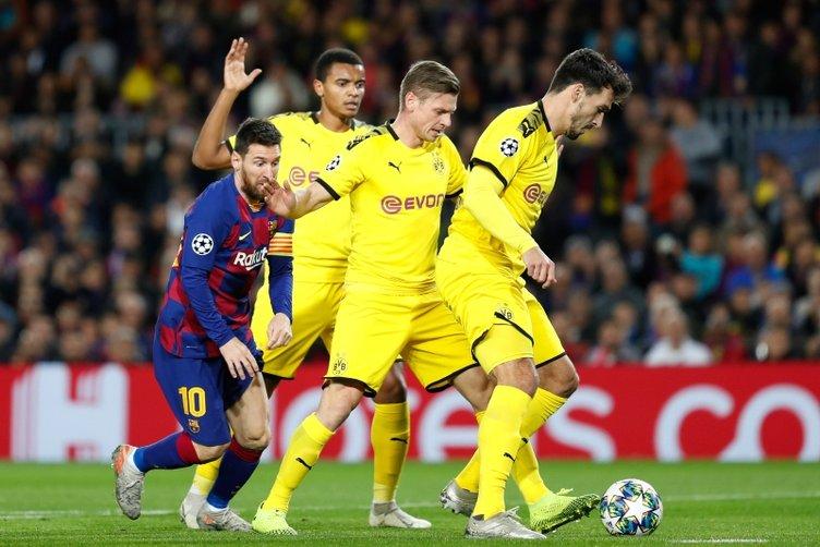 Lionel Messi, bir kez daha Şampiyonlar Ligi tarihine geçti! Borussia Dortmund'a attığı golle...
