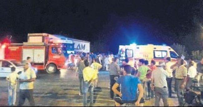 Aynı aileden 7 kişi kazada yaralandı