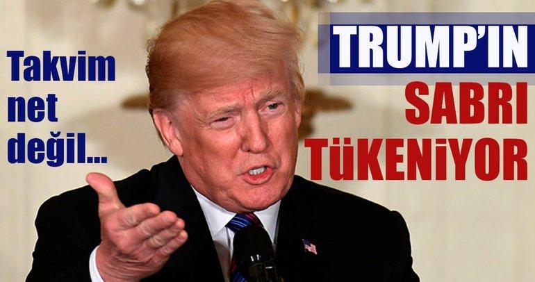 Trump, ABD askerlerinin 6 ay içinde Suriye'den dönmesini istiyor iddiası
