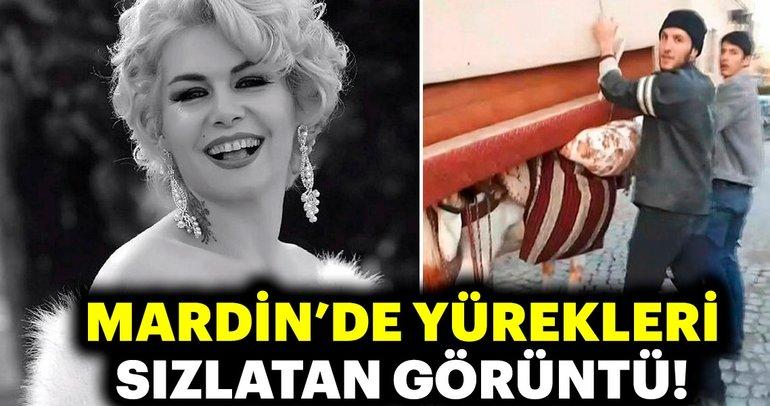 'Mardinli Marilyn'den eşekle kanepe taşınmasına tepki