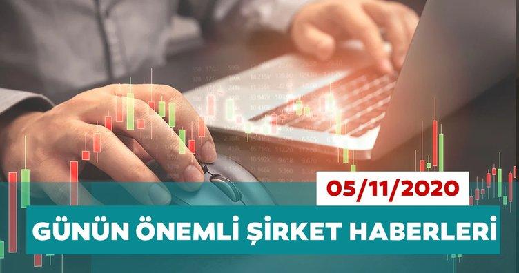 Borsa İstanbul'da günün öne çıkan şirket haberleri ve tavsiyeleri 05/11/2020
