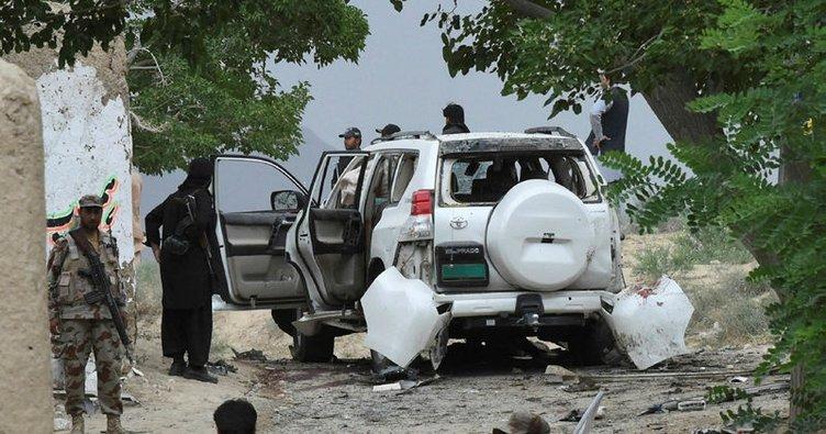 Pakistan'da Senato Başkan Yardımcısı'nın konvoyuna bombalı saldırı