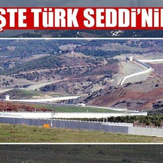 'Türk Seddi'nde sona gelindi