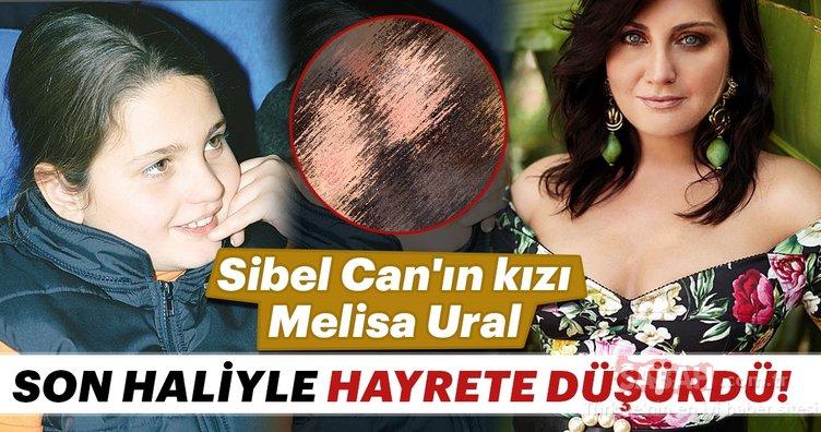 Sibel Can'ın kızı Melisa Ural görüntüsüyle şaşırttı. İşte Melisa Ural'ın son hali...