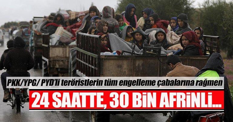 Son dakika: Siviller Afrin'den ayrılıyor