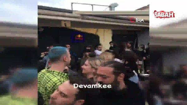Antalya'da kademeli normalleşme sonrası korona partisi | Video
