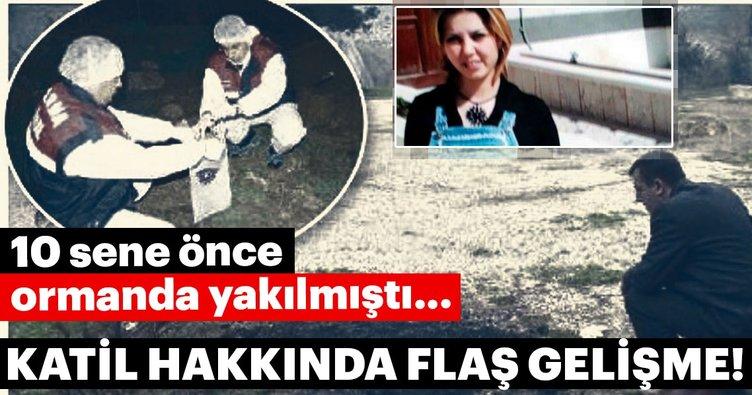 Bursa'da 10 yıl önce yakılarak öldürülen kadının katil zanlısı, cezaevinde çıktı