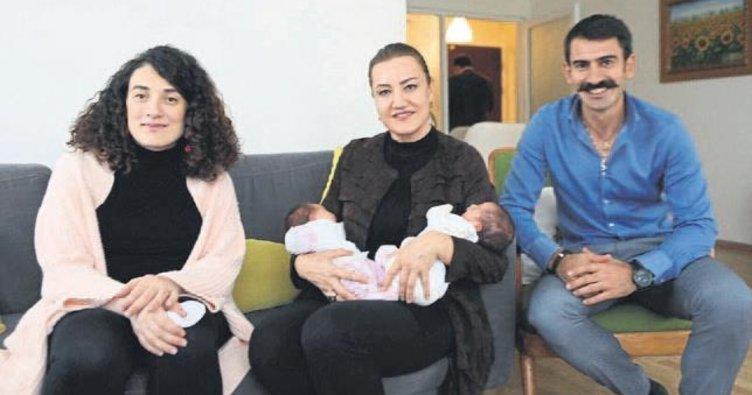 Hotar ikiz bebeklerin isim annesi oldu