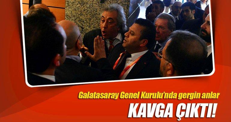 Galatasaray Genel Kurulu'nda gerginlik