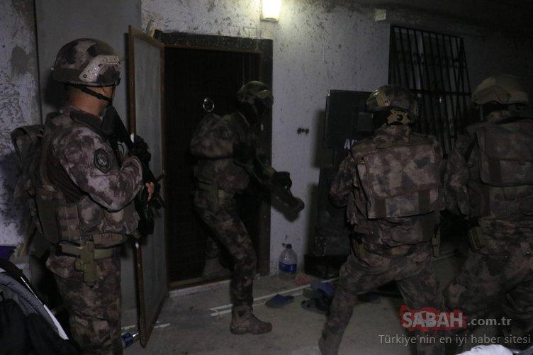 Son dakika: Adana'da PKK/KCK'ya şafak baskını