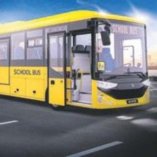 Çocuklar yeni otobüsle yolda daha güvenli