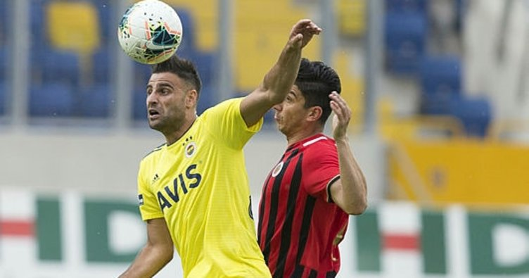 Fenerbahçe Ankara'da 1 puanı Emre ile kurtardı! Gençlerbirliği 1-1 Fenerbahçe MAÇ SONUCU