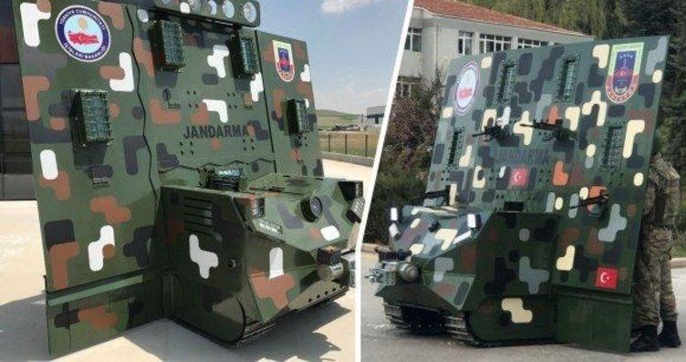Yerli ve milli ilk insansız kara aracı: Robot...