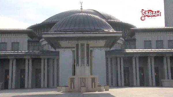 İstanbul Havalimanı'ndaki camiye altın sertifika   Video