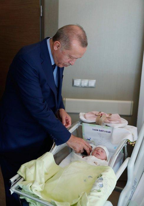 Başkan Erdoğan'dan Şevket Kazan'a ziyaret