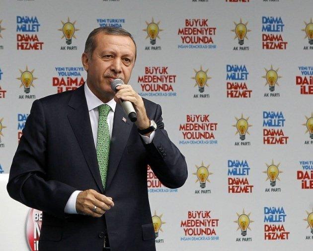 Başbakan'a Ağrı'da sevgi seli