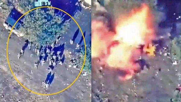 Son dakika haberi: Azerbaycan'ın Ermenistan güçlerini havaya uçurduğu anlar kamerada!