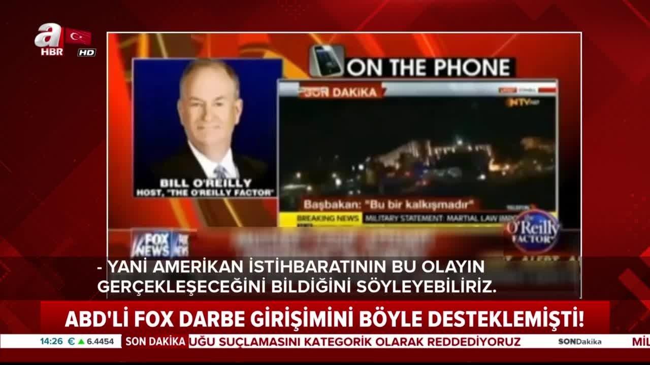 FOX'un unutulmayan darbe gecesi yayını ile ilgili görsel sonucu