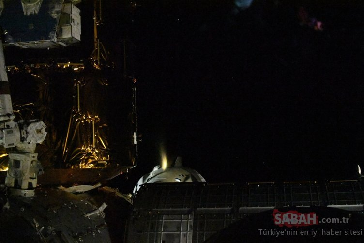 Son dakika! SpaceX'in NASA astronotları Dünya'ya dönüyor