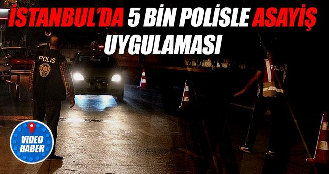 İstanbul polisinden huzur uygulaması