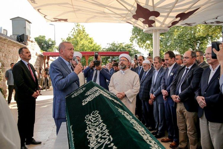 Mehmed Şevket Eygi'nin cenazesi toprağa verildi