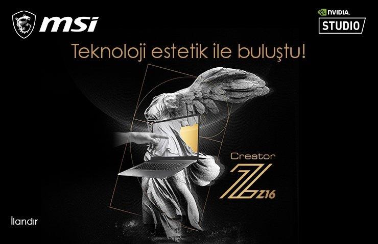 MSI Creator Z16 tanıtıldı