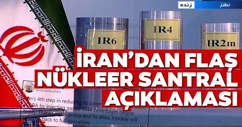 İran Cumhurbaşkanı Ruhani'den flaş nükleer tesis açıklaması