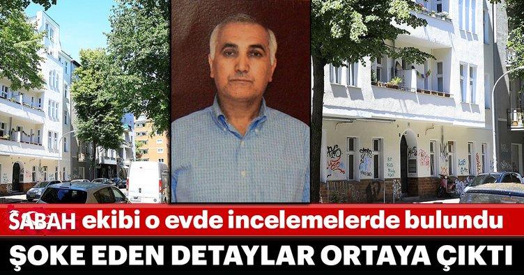 Sabah ekibi Adil Öksüz'ün kaldığı iddia edilen evde incelemelerde bulundu