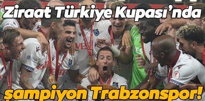 Türkiye Kupası'nın sahibi Trabzonspor! Trabzonspor 2-0 Alanyaspor | MAÇ ÖZETİ İZLE | GOLLER İZLE